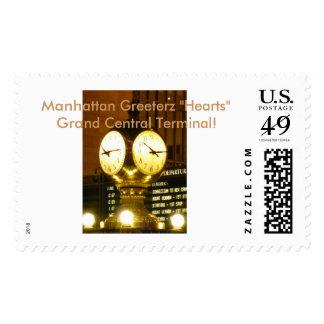 We Heart NYC Landmarks Postage Stamp