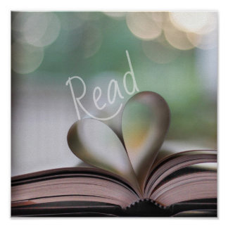 We Heart to Read Classroom Book Nook Poster