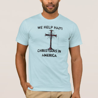 We Help Haiti (Christian) T-Shirt