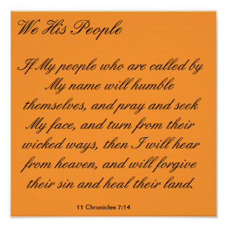 We His People Poster