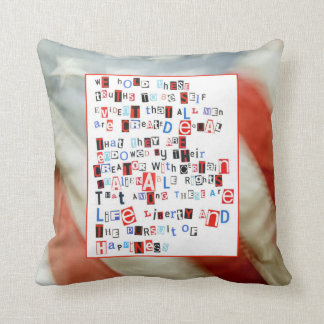 We Hold These Truths Pillow