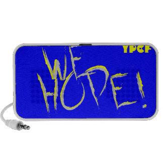 WE HOPE! iPod SPEAKERS