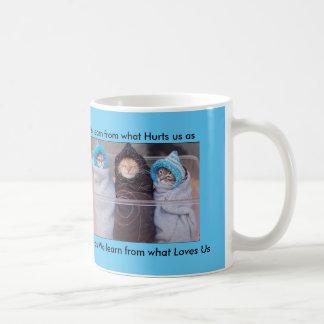 We Learn from hurt & love Coffee Mug