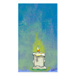 We Light a Candle & Give Thanks inspirational art Business Cards