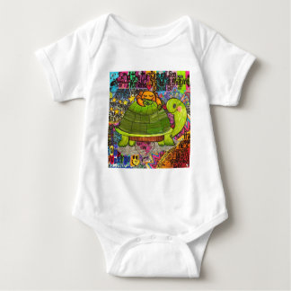 We Live in a Beautiful World. Baby Bodysuit