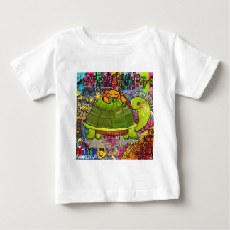 We Live in a Beautiful World. Baby T-Shirt