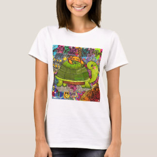 We Live in a Beautiful World. T-Shirt