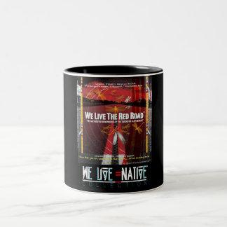 We Live Native™ Collection Two-Tone Coffee Mug