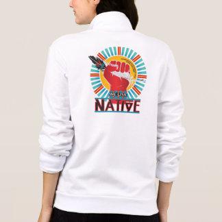 We Live Native ™ Printed Jacket