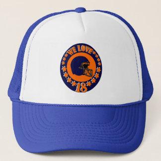 WE LOVE 18 TRUCKER HAT