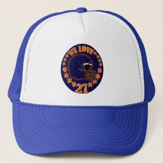 WE LOVE 27 TRUCKER HAT