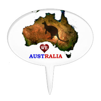 cartoon wedding cake toppers australia kangaroo cake toppers zazzle 12422