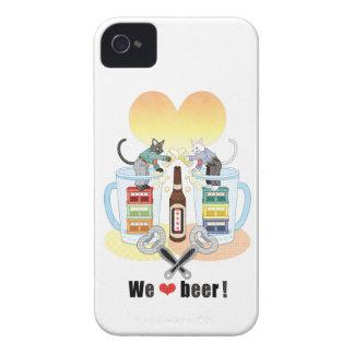 We love beer! iPhone 4 case