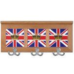 We love Britain Coat Rack