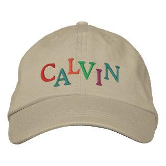 We Love CALVIN Horse Racing Cap Embroidered Baseball Caps