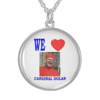 WE LOVE CARDINAL DOLAN STERLING SILVER NECKLACE