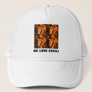WE LOVE CECIL! TRUCKER HAT