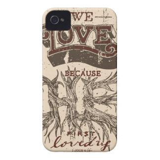 We Love (Cream) iPhone 4 Cover