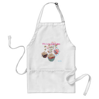 We Love Cup Cakes - Apron