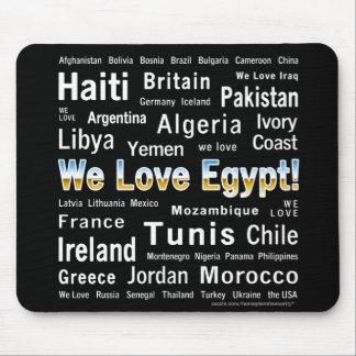 We Love Egypt, et al Mousepad