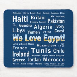 We Love Egypt, et al Mouse Pads