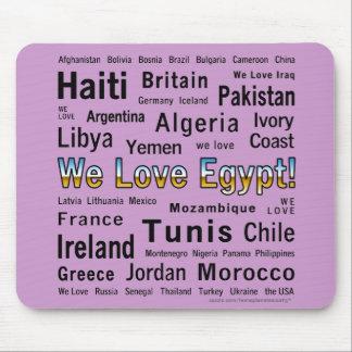 We Love Egypt, et al Mouse Pad