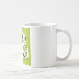 We love food coffee mug