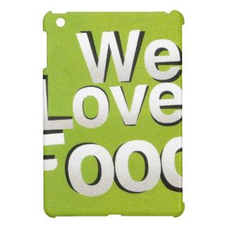 We love food iPad mini covers