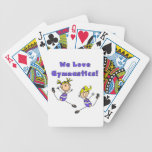 We Love Gymnastics Bicycle Card Deck