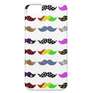 We love H afternoon mustaches iPhone SE/5/5s Case