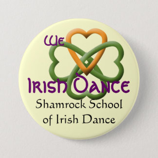 We love Irish Dance Button