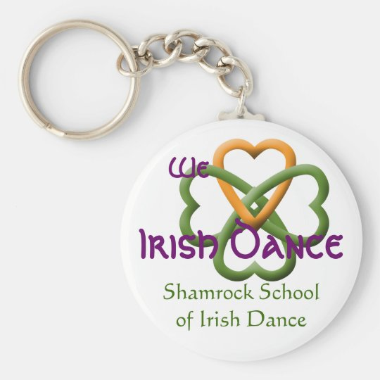 We love Irish Dance Keychain