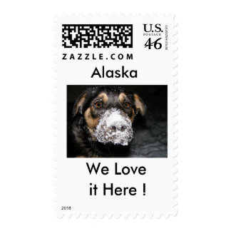 We Love it Here ! Stamp