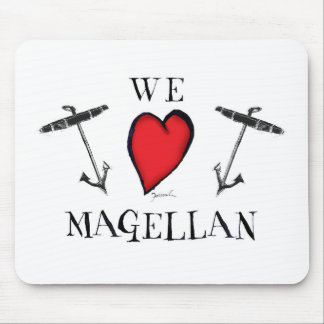 we love magellan mouse pad