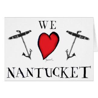 we love nantucket card