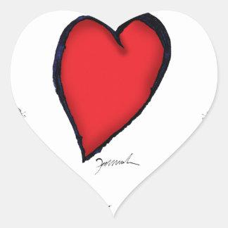 we love nantucket heart sticker