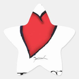 we love nantucket star sticker