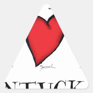 we love nantucket triangle sticker