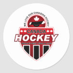 We Love Our Canadian Hockey! Sticker