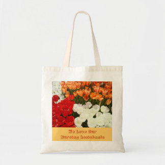 We Love Our Nursing Assistants Tote Bags Gifts