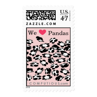 We love Pandas Postage
