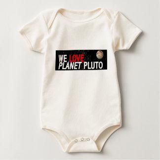 We LOVE Planet Pluto Baby Bodysuit
