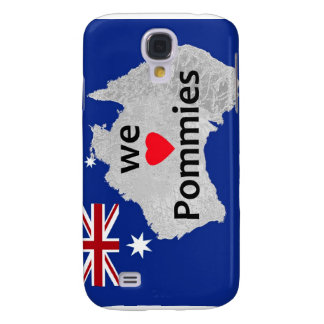 We Love Pommies Australian Flag iPhone Case
