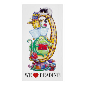 We Love Reading ! Poster