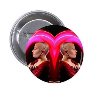 WE LOVE SHANNON PINBACK BUTTON