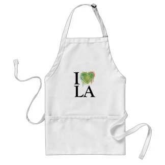 We love t adult apron
