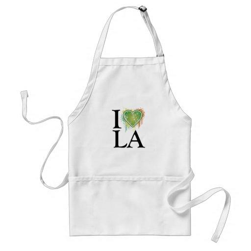 We love t adult apron