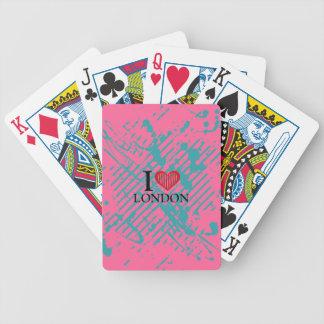 We love t bicycle card decks