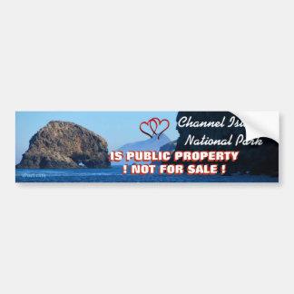 WE LOVE THE CHANNEL ISLANDS NATIONAL PARK BUMPER STICKER