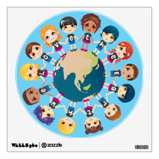 We love the Earth Wall Decals